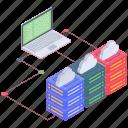 internet hosting, server computing, server hosting, web hosting, web server icon