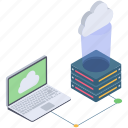 cloud computing, cloud connected device, cloud connection, cloud hosting service, cloud network, cloud technology icon