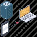 data server, data storage device, database device, database network, hosting data device icon