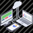cloud analysis, cloud analytics, cloud analyze, cloud computing, computing chart icon