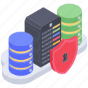 data integrity, secure computing, server access, server data protection, server protection icon
