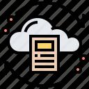 backup, cloud, cycle, database, downloading