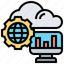 cloud, computer, hosting, sourcing, support