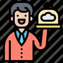 assistance, customer, self, service, waiter