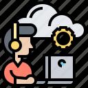 cloud, infrastructure, programmer, service, technician