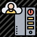 account, cloud, personal, server, storage