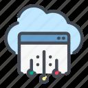 cloud, service, web, website, connect, connection, network