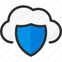 cloud, protection, security, service, shield, storage