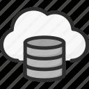 cloud, data, database, server, service, storage icon