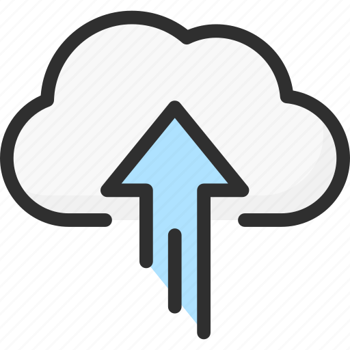 arrow, cloud, service, storage, up, upload icon