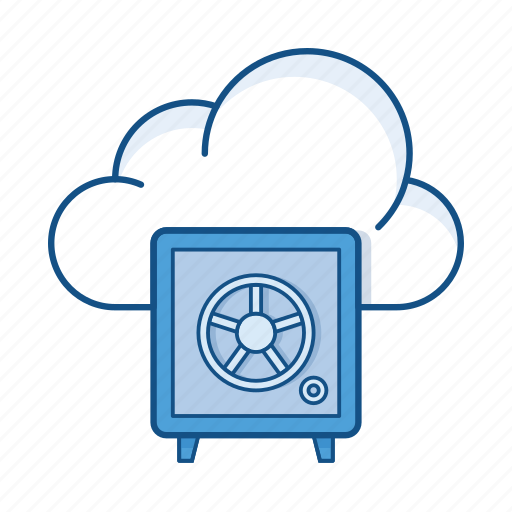 cloud, lock, private cloud, protection, safe, secure, service icon