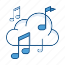 sound, service, storage, player, music, audio, cloud