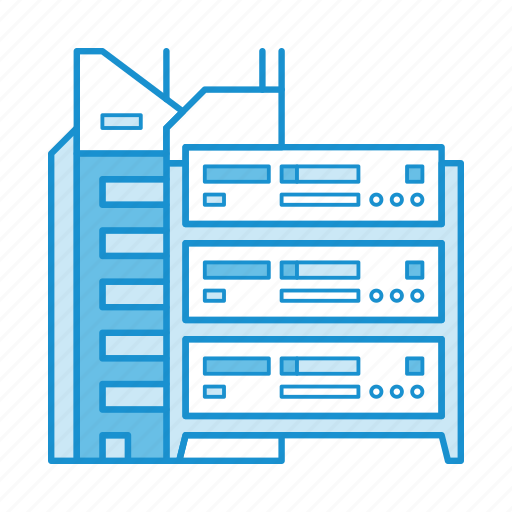 cloud, data, hosting, network, on premise, server, service icon