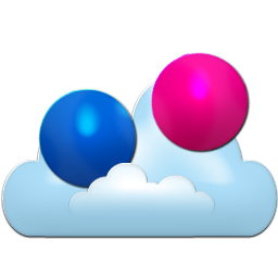 flickr, px icon