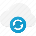 reload, cloud, refresh, computing icon