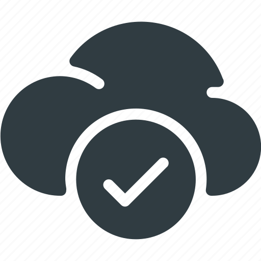 Check, cloud, computing icon - Download on Iconfinder