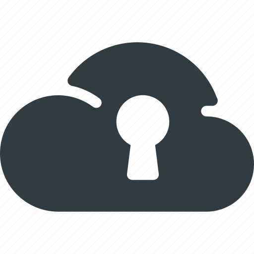Cloud, computing, lock, security icon - Download on Iconfinder