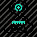 antenna, board, cast, data, link, wireless icon
