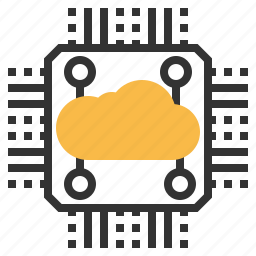 big, cloud, data, database, information, storage, technology icon