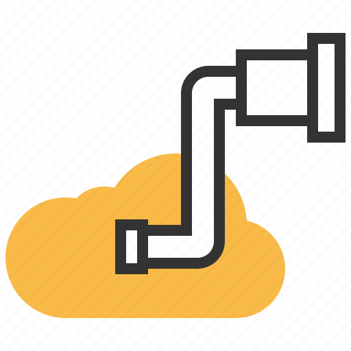 cloud, find, internet, magnifier, search, seo, zoom icon
