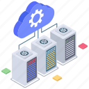 cloud computing, cloud data connection, cloud hosting, cloud management, cloud settings, cloud technology icon
