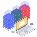 cloud computing, cloud datacenter, cloud hosting, cloud services, cloud storage, cloud technology icon