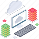 cloud computing, cloud connection, cloud services, cloud storage, cloud technology icon