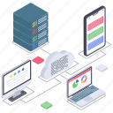 cloud analytics, cloud computing, cloud data backup, cloud devices, cloud storage, cloud technology icon