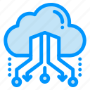 cloud, link, network, online, share icon