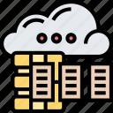 cloud, data, server, hosting, online