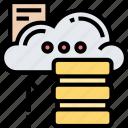 cloud, storage, server, data, backup