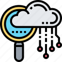 search, cloud, view, browse, data