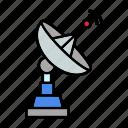 antenna, dish, satellite, wireless