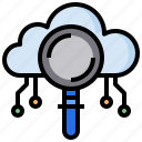 cloud, cloudy, computing, search, sky, weather