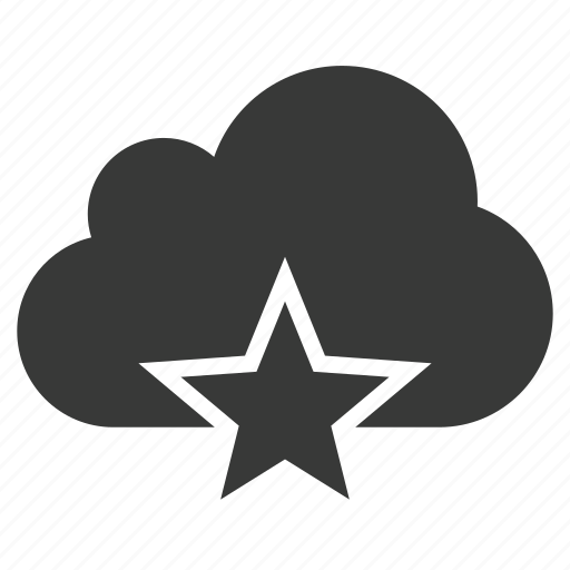 bookmark, cloud, favorite, featured, rating, special, star icon