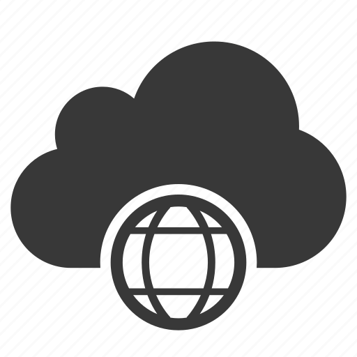 Cloud, earth, global, globe, planet, web, world icon - Download on Iconfinder