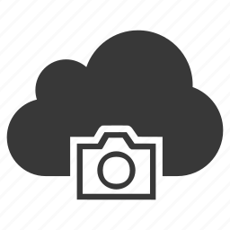 camera, cloud, digital, dslr, photo, photography, video icon