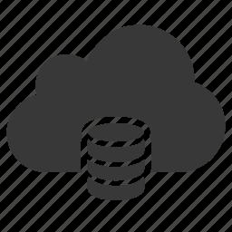 access, cloud, data, database, server, sql, storage icon