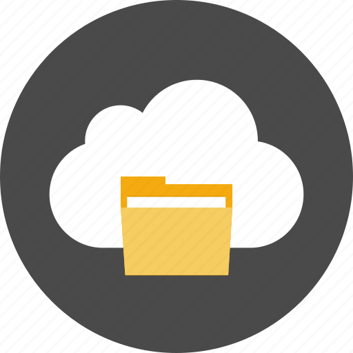 cloud, data, document, file, folder, storage icon