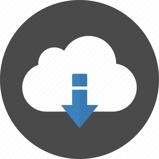 cloud, download, save icon