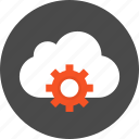 application, cloud, configuration, control, gear, preferences, setting icon