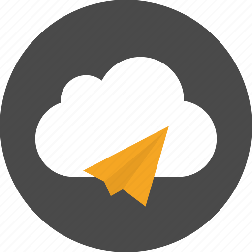 chat, cloud, communication, email, mail, message, send icon
