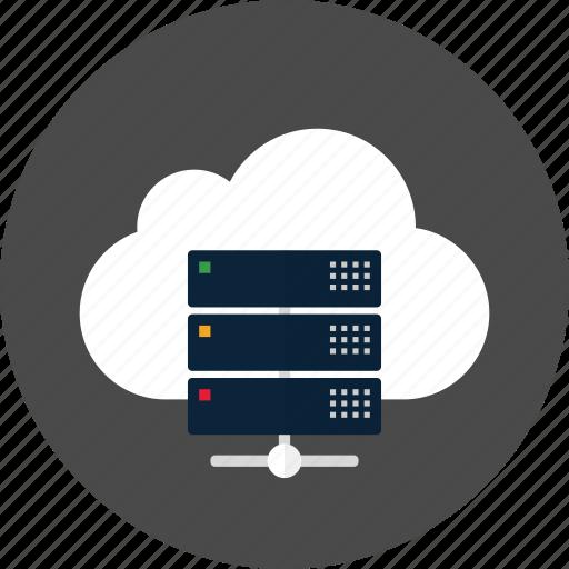 Cloud, server, data, database, network, storage icon - Download on Iconfinder