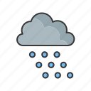 sun, snow, weather, cloud, forecast, sunny