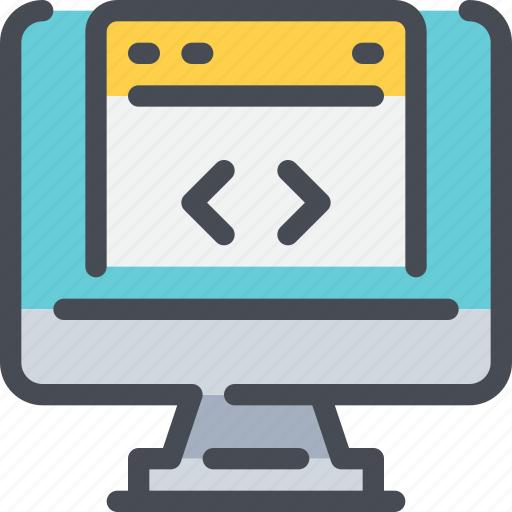 code, coding, computer, develop, development icon