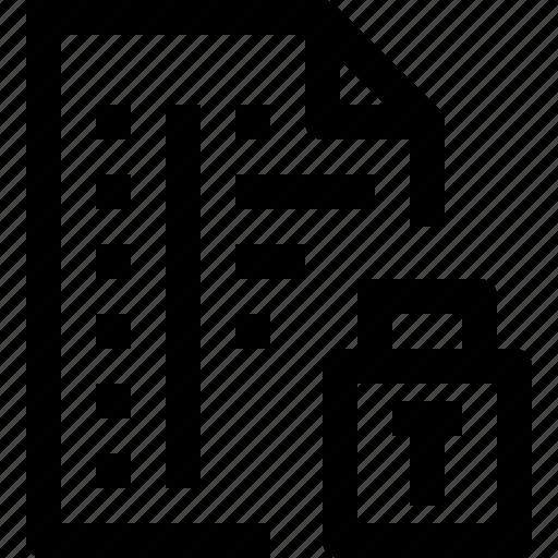code, codefile, development, file, lock, programming icon