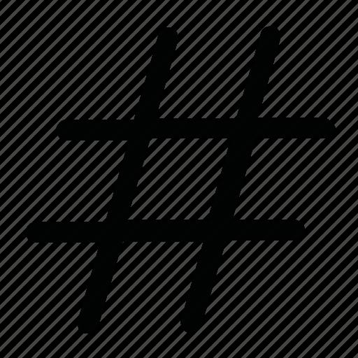 code, coding, sharp, sign, tag icon