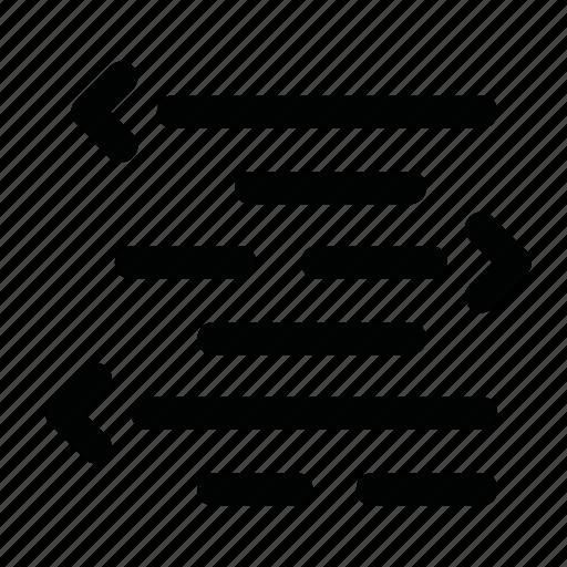 arrow, code, coding, script icon