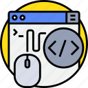 browser, code, coding, porgramming, programming, website icon