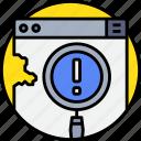 code, coding, develop, error, programmer, programming icon